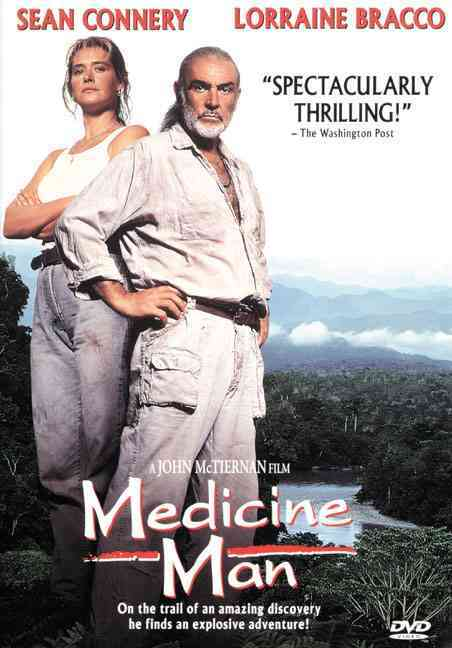 MEDICINE MAN BY CONNERY,SEAN (DVD)